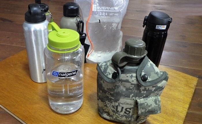 ラーツーの道具 水筒&ウォーターバッグ