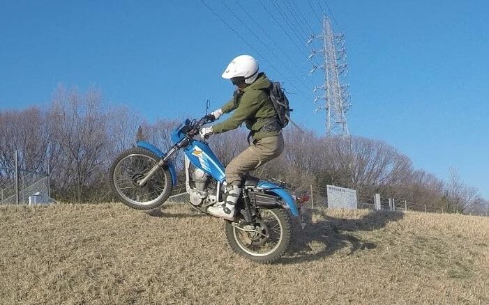 アライのトライアル用ヘルメット ハイパーTの使用感