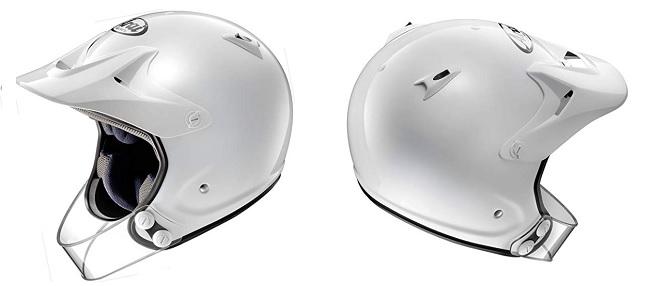 チンガード付きトライアル用ヘルメット ハイパーT プロ