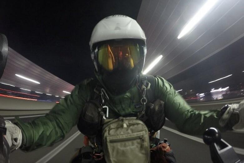 トレントシェルジャケット バイク