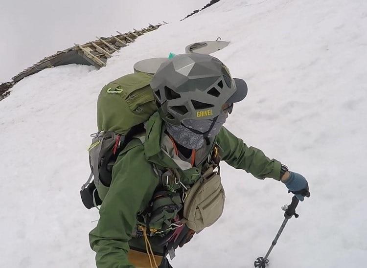 トレントシェルジャケット 雪山登山で使用