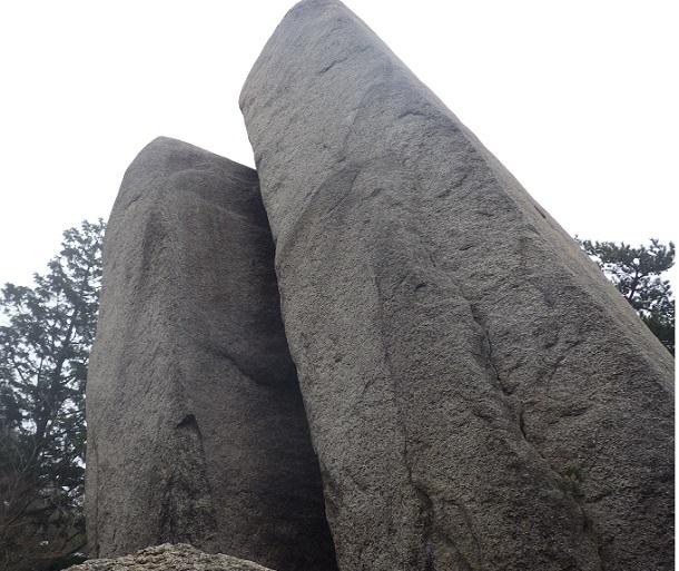 中道 おばれ岩