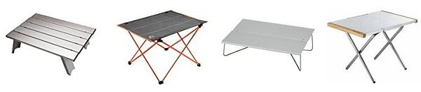 ツーリング キャンプ用ミニテーブル