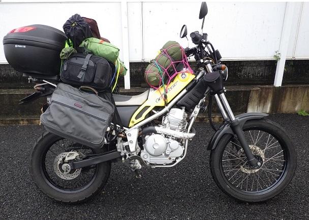 バイク ツーリングキャンプ 装備