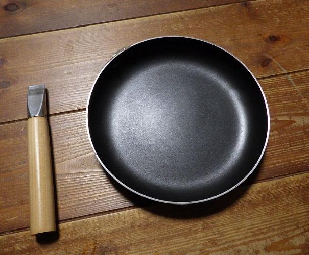 ニトリの親子鍋の取っ手をカット