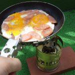キャンプ用フライパンを自作|親子鍋を改造アウトドア用フライパン