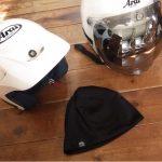 ヘルメットの内装を清潔に保つインナーキャップ【吸汗速乾】