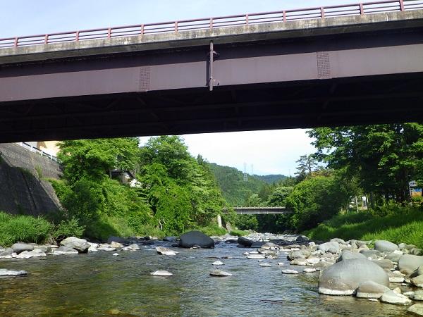 庄川 町屋橋