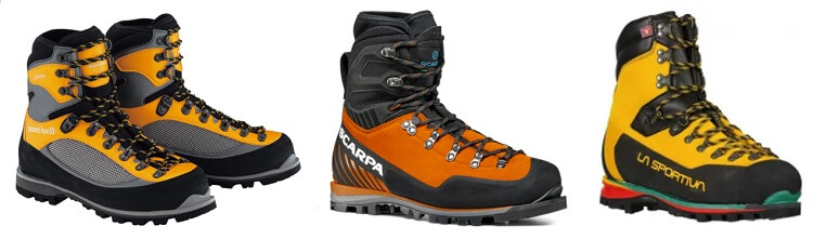 登山靴 アルパイン 積雪期対応モデル