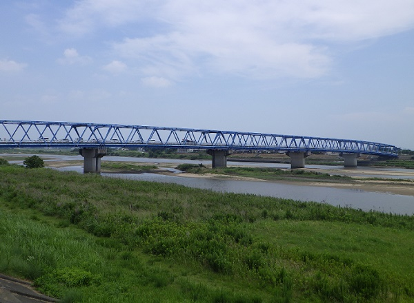 矢作川中畑橋周辺
