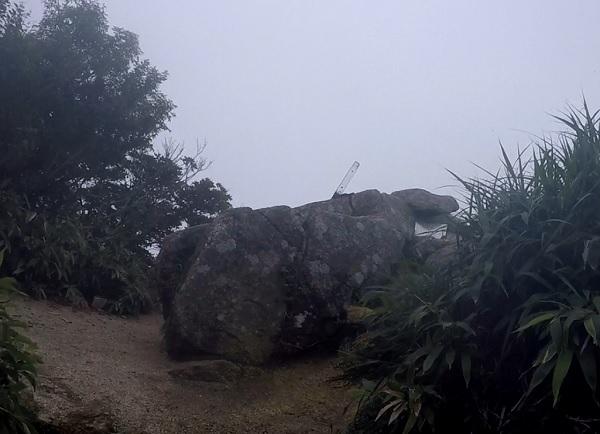 鎌ヶ岳山頂間近
