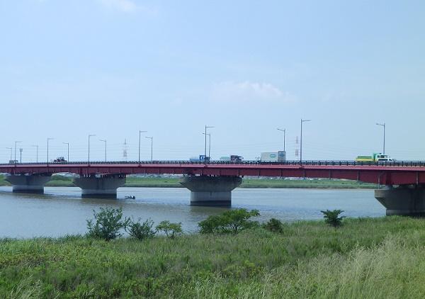 矢作川大橋下流部