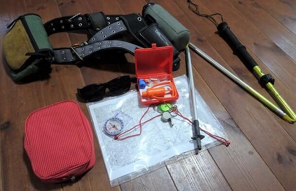 渓流釣りの装備 いろいろ