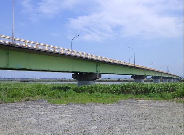 矢作川 棚尾橋周辺