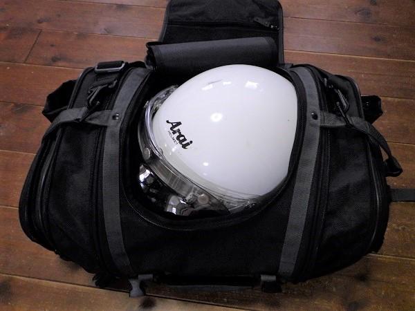MFK-100にヘルメットを収納