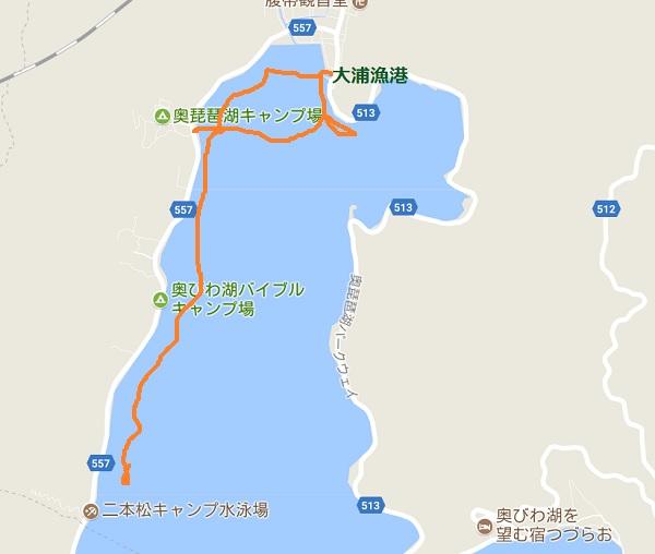奥琵琶湖 大浦 奥出湾 バス釣り