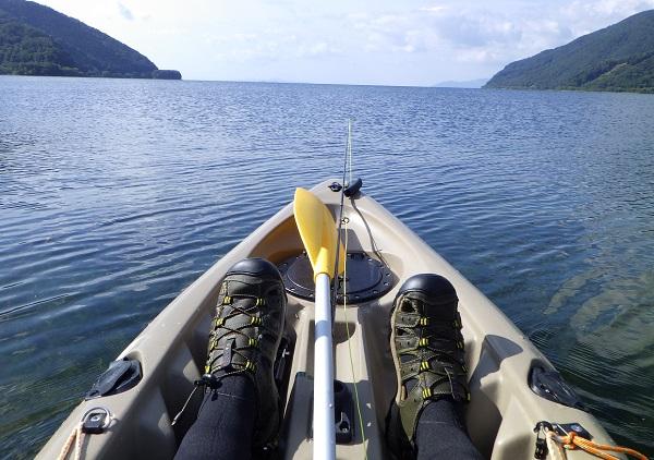 フィッシングカヤックで琵琶湖へ