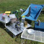 キャンプツーリング用テーブルのおすすめ~バイクキャンプ・キャンツーに最適