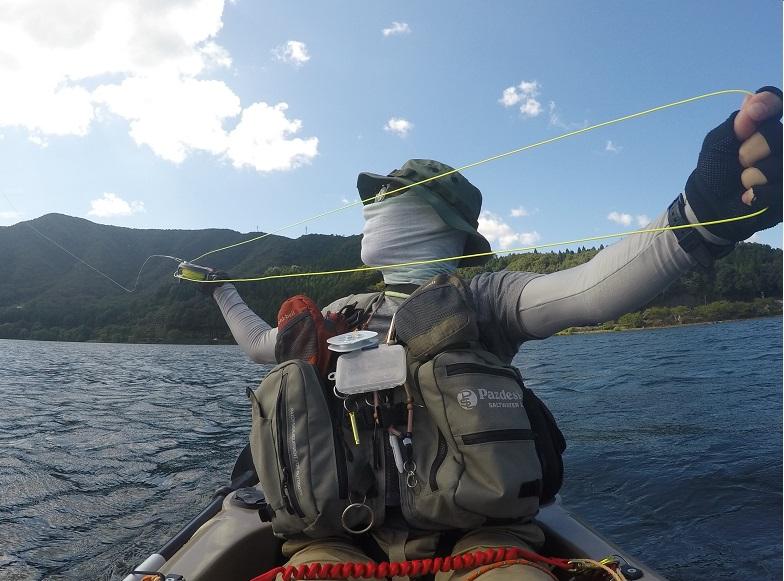 奥琵琶湖でカヤックフィッシング