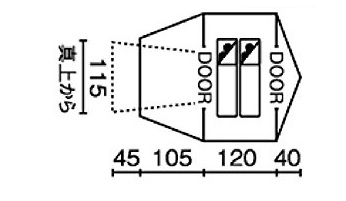 ツーリングドームSTの特徴