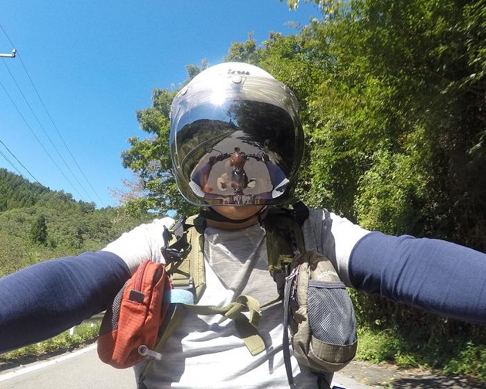 バイクで段戸湖へ