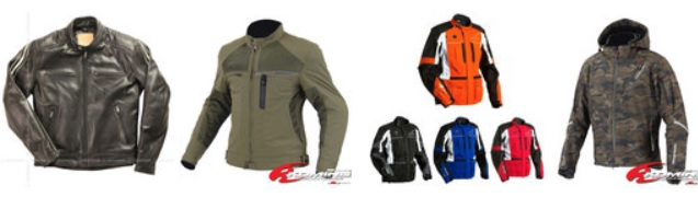 楽天市場で人気のバイク用ジャケット