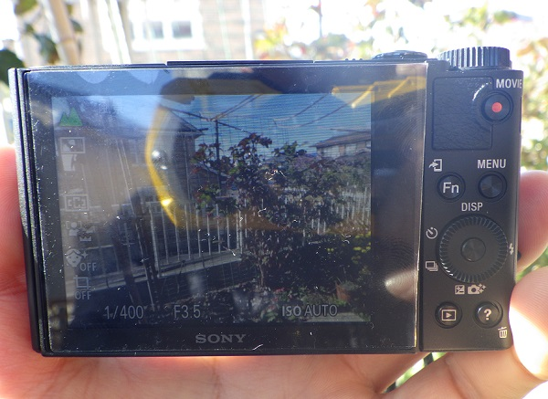 WX500 液晶保護フィルム 視認性_2