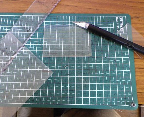 WX500に液晶保護フィルムを貼る2