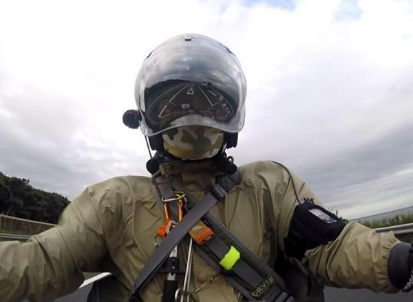 ジェットヘル シールド ツーリング