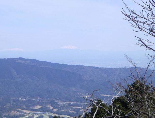 藤原岳 八合目からの眺め