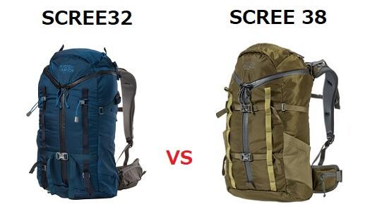 スクリー32と38の違い スペック比較