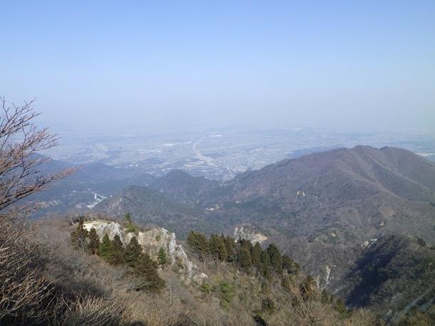 鎌ヶ岳からの眺望 四日市
