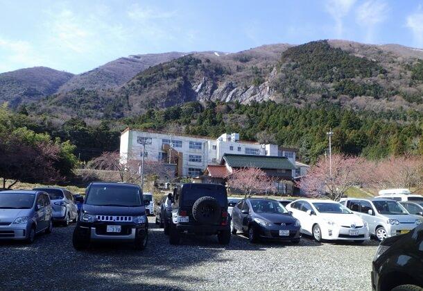 藤原岳 駐車場