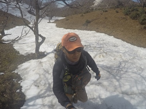 藤原岳 登山 3月