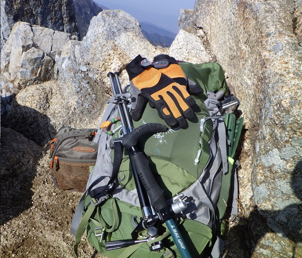 登山用手袋 レビュー