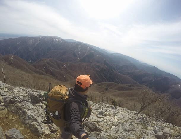 藤原岳 山頂からの眺め