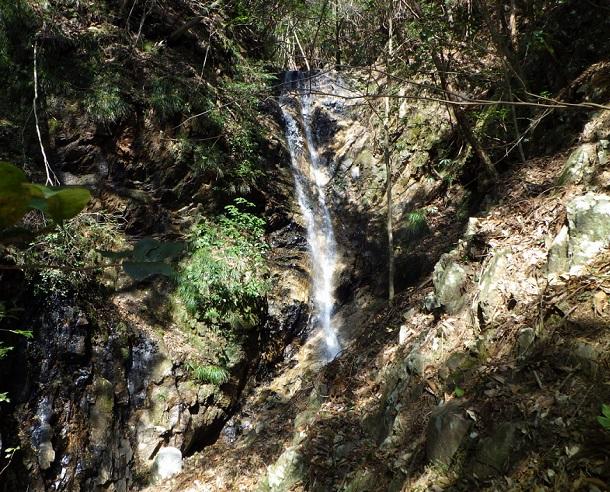 鎌ヶ岳 カズラ谷 滝