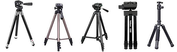 軽量・コンパクトなカメラ三脚一覧