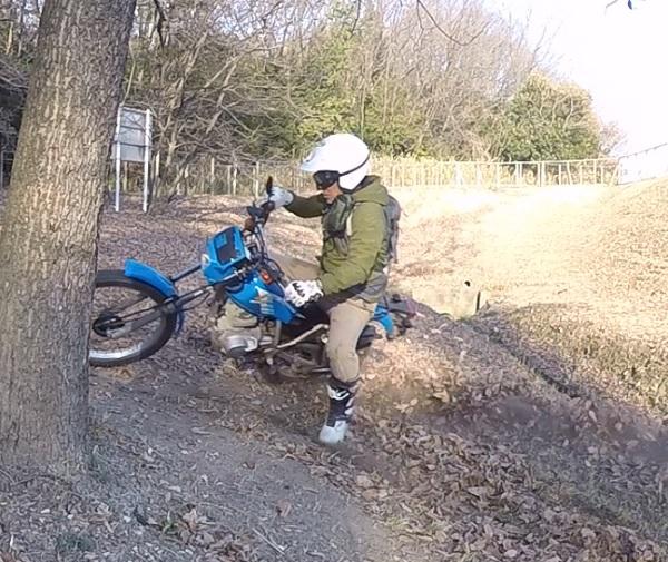 バイクでストレス解消