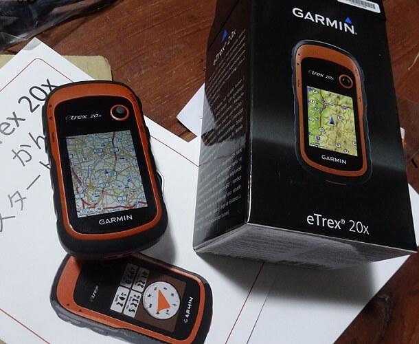 Garmin eTrex 20x 日本語