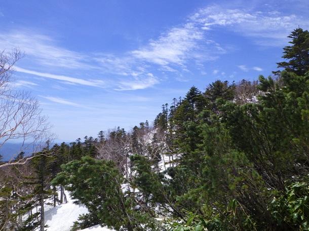 御嶽 7合目からの眺め