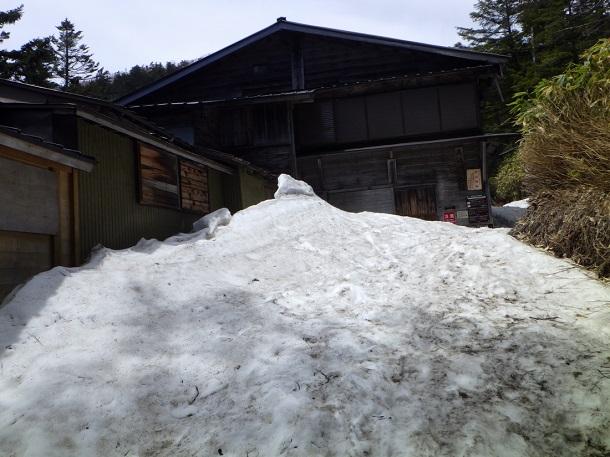 御嶽山 7合目 山荘