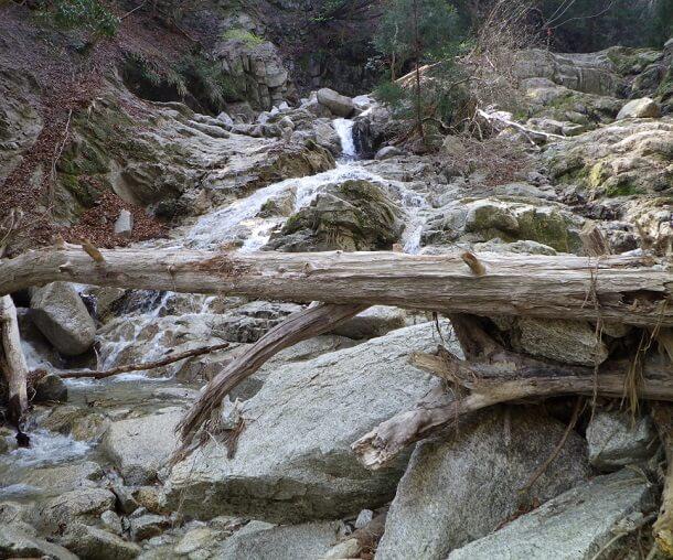 長石谷 ナメ滝