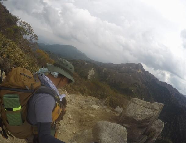 御在所岳から武平峠へ