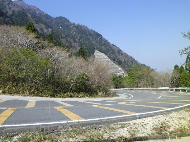 鈴鹿スカイラインの峠道