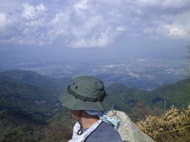 鎌ヶ岳からの眺望