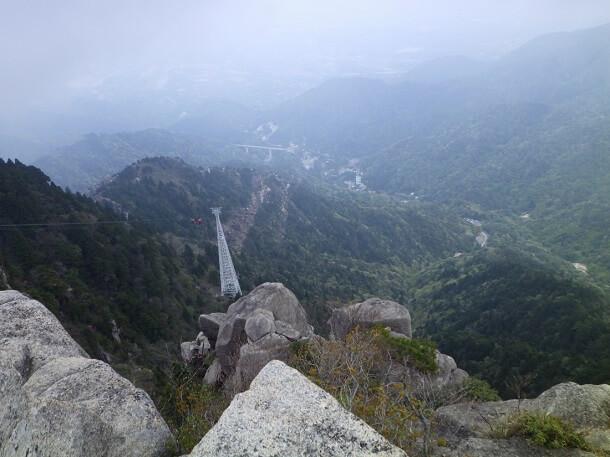 御在所岳 大黒岩からの展望