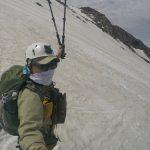 御嶽山の残雪登山5月■黒沢口登山道■中の湯~9合目岩室山荘【山行記録】