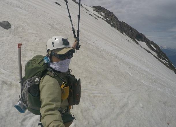 5月の御嶽山 登山