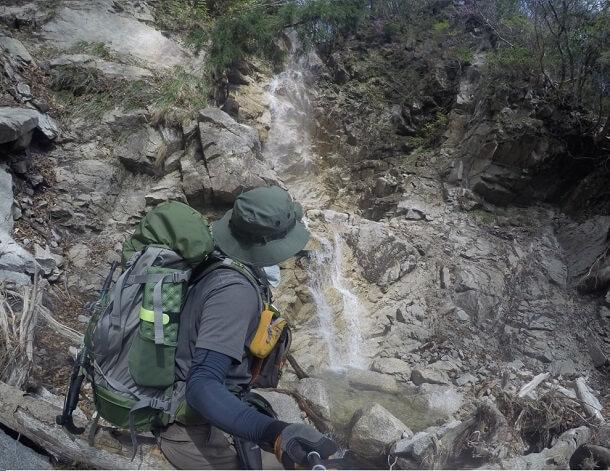 長石谷 犬星の滝